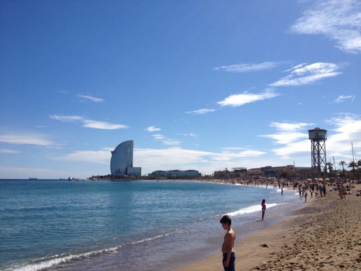 バルセロナにあるビーチ