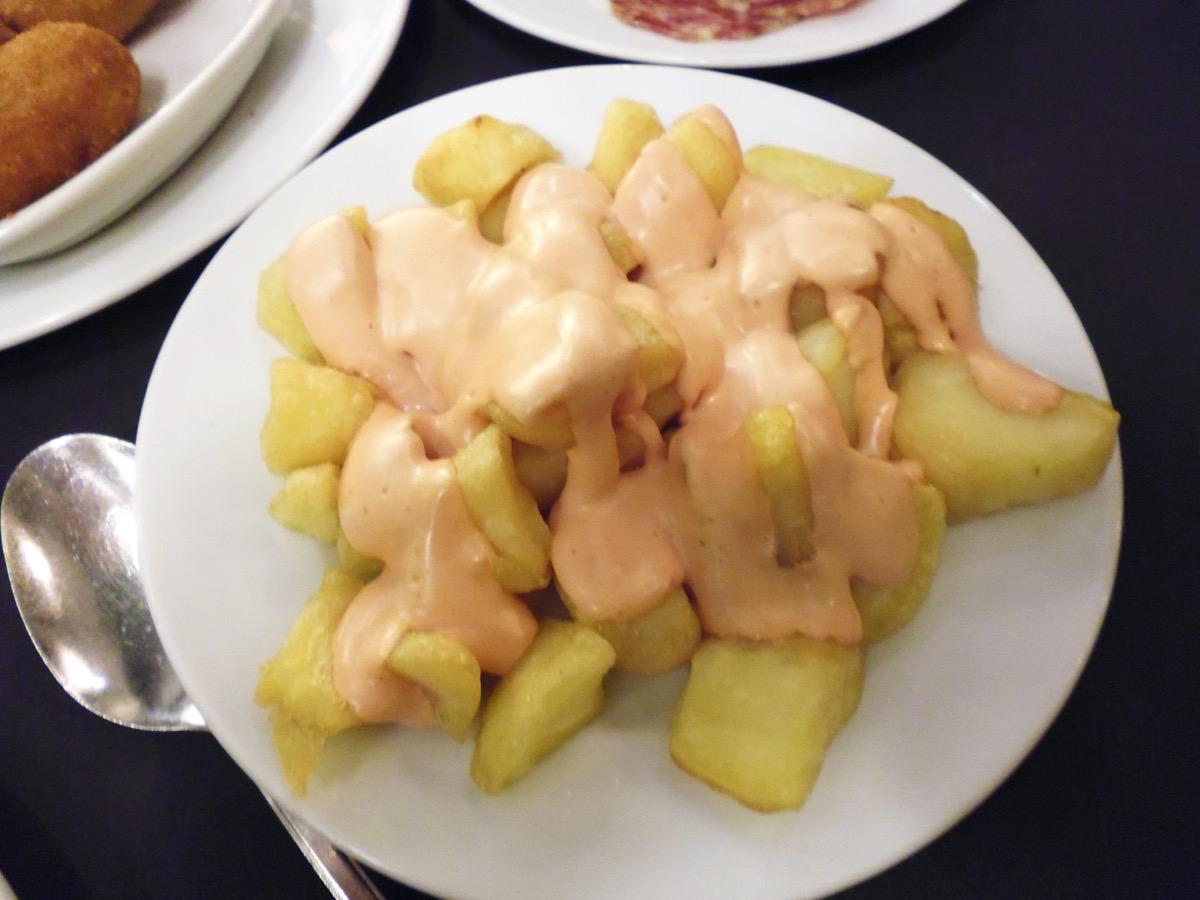 スペイン風 ポテト