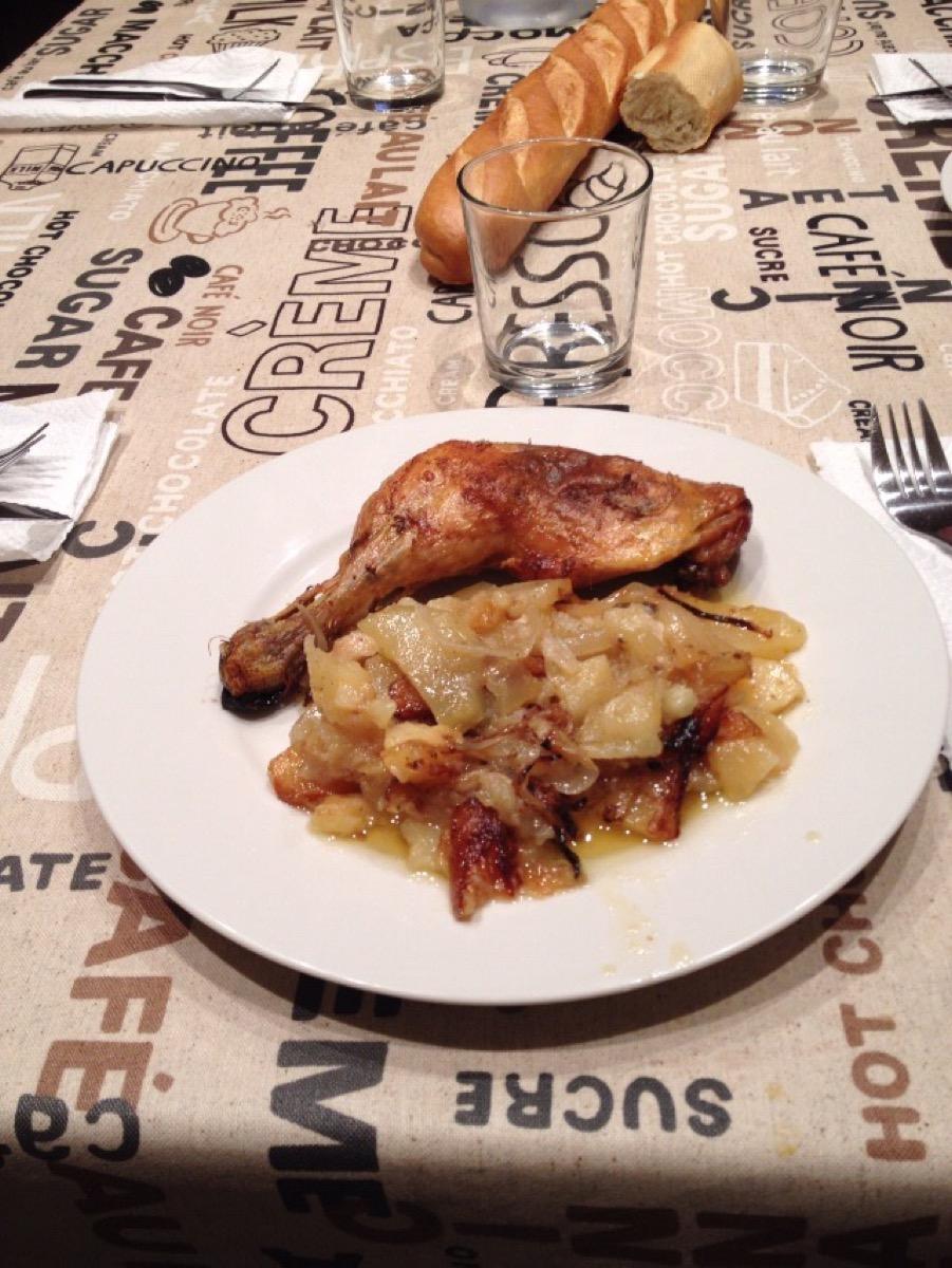 スペインの郷土料理