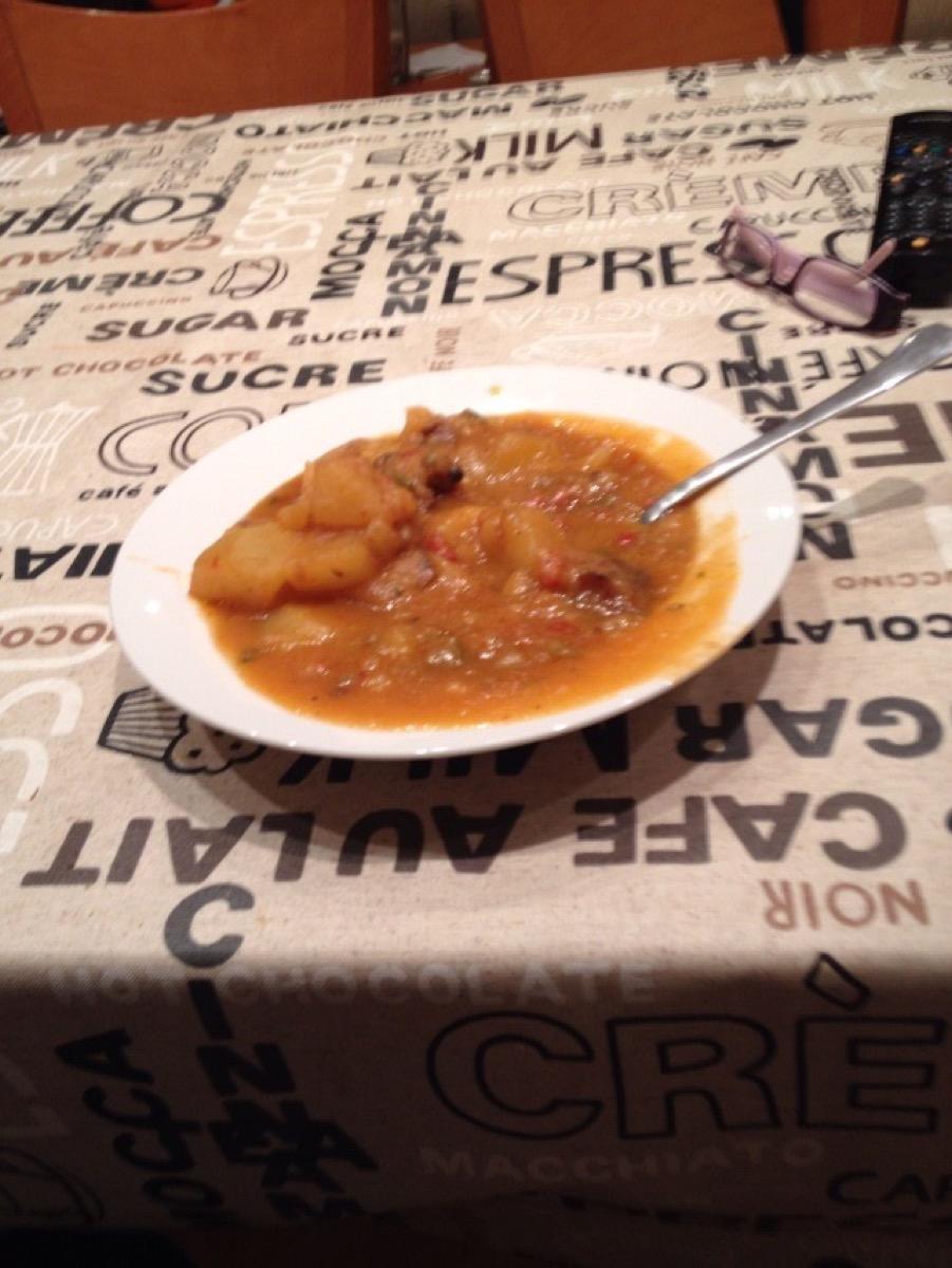 スペインの郷土料理スープ