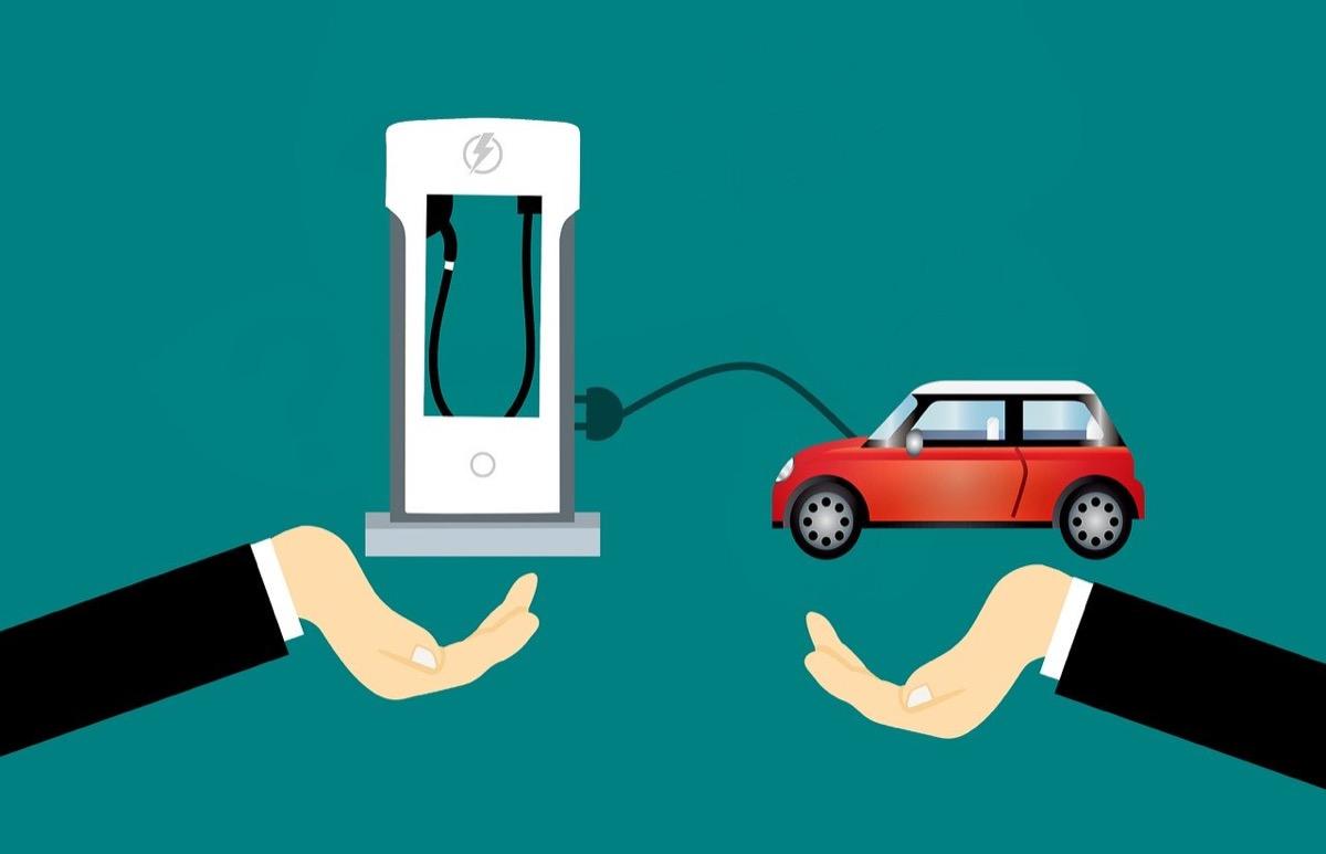 自動車-充電