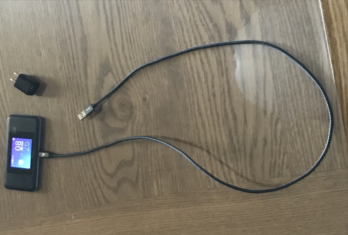 USBケーブル-Cタイプ