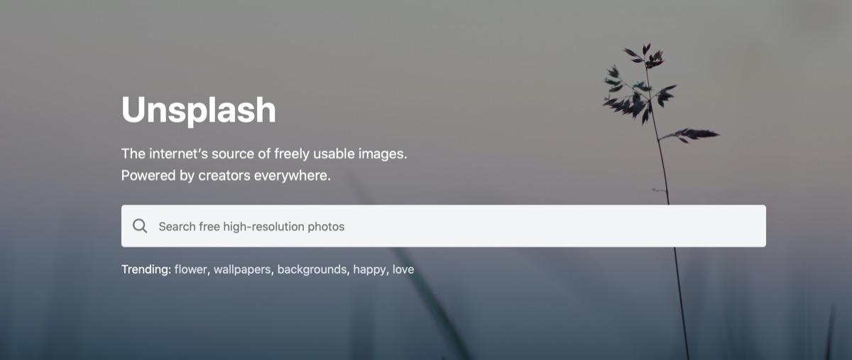 フリー画像-Unsplash
