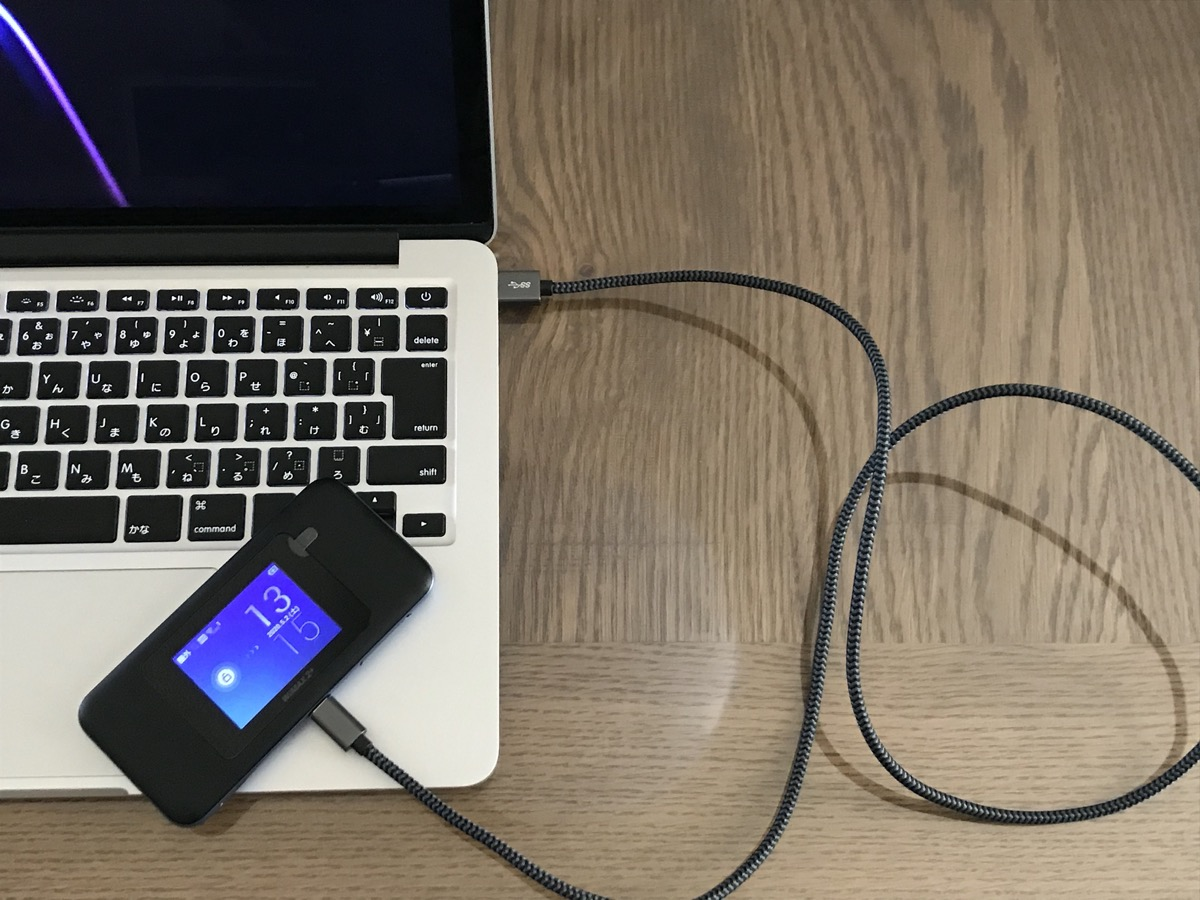 Mac-USB接続