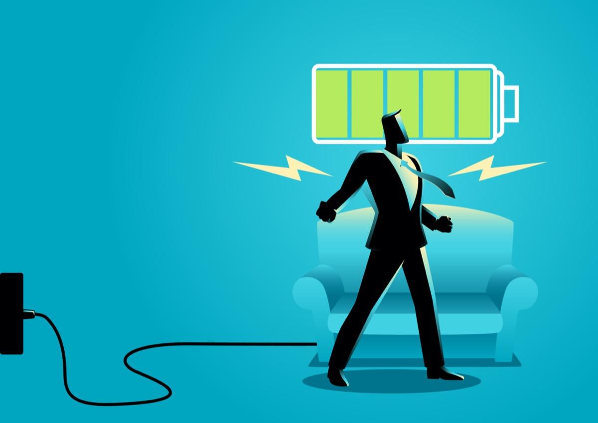 バッテリー-回復-充電