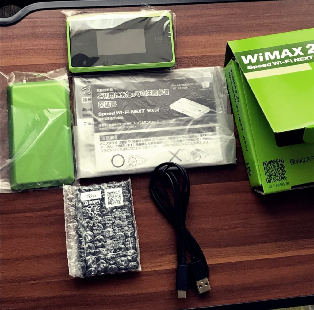 WiMAX-W06-付属品