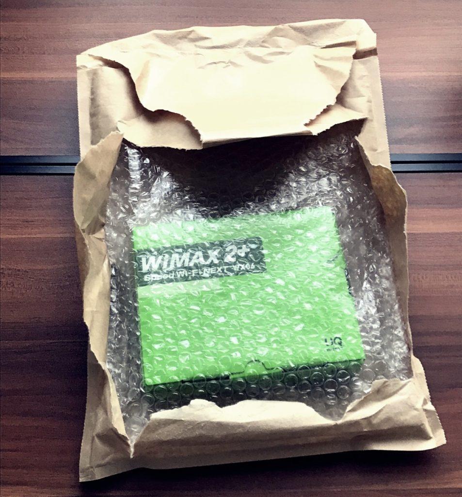 WiMAX-W06-開封後