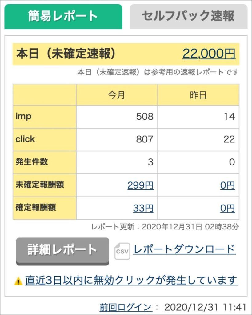 A8-2020-12-31 発生報酬