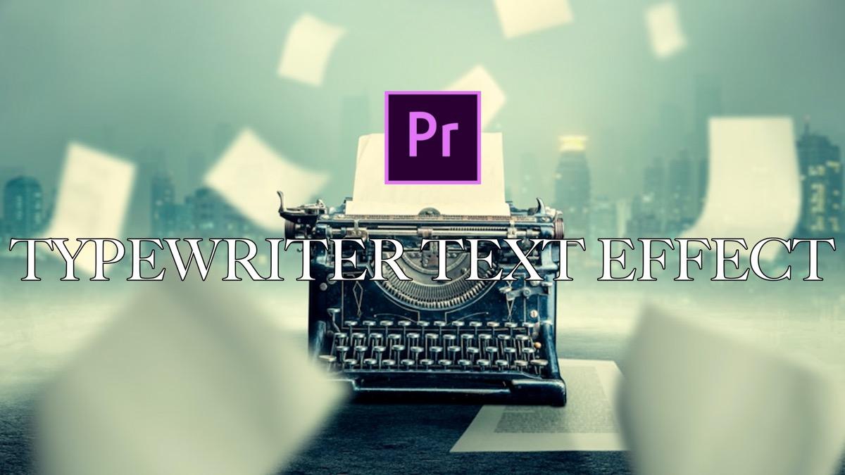 TYPEWRITER TEXT(サムネイル)