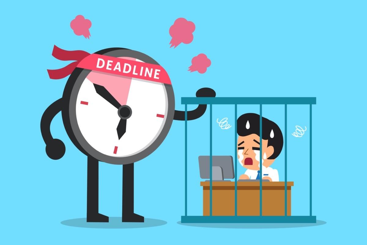 freepik-Cartoon_deadline_clock_character_with_businessman_working_in_prison